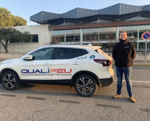 Qualifeu recrute son nouveau collaborateur. Qualifeu recrute son technico-commercial.