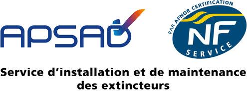 QUALIFEU est certifiée APSAD & NF service, cetifiication indispensable pour un prestataire professionnel de qualité.