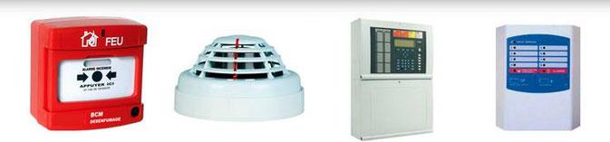 Les alarmes incendie détectent et se déclenchent lors d'un départ de feu. Les alarmes incendie sont manuelles ou automatiques.