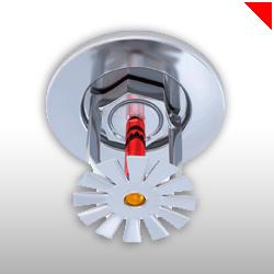 Le sprinckler est un extincteur automatique qui se déclenche lors d'une augmentation anormale de la température ambiante.