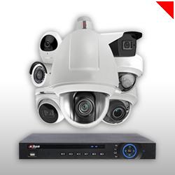 Le système de vidéosurveillance vous permet de protéger votre local professionnel en cas d'intrusion ou de départ de feu.